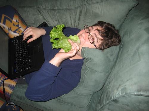 the lettuce eater