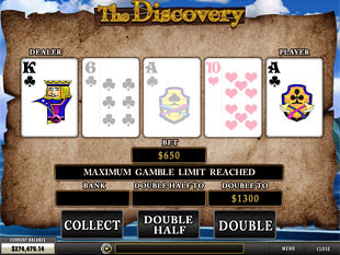 free The Discovery slot gamble feature