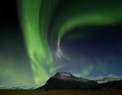 Aurora III (Islandia) (martin zalba) Tags: night stars landscape star noche paisaje aurora estrellas estrella boreal