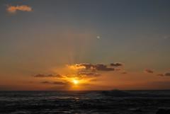 Un atardecer (Yeray Rojas) Tags: travel sunset sky sun sol beach clouds atardecer playa canarias cielo nubes tenerife garcia islas rojas 2011 yeray topf1000