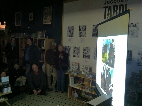 Jacques Tardi slideshow at Fantagraphics Bookstore & Gallery