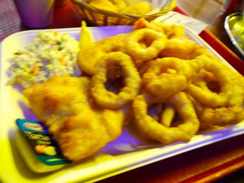 Cicerello's Seafood Basket 120311