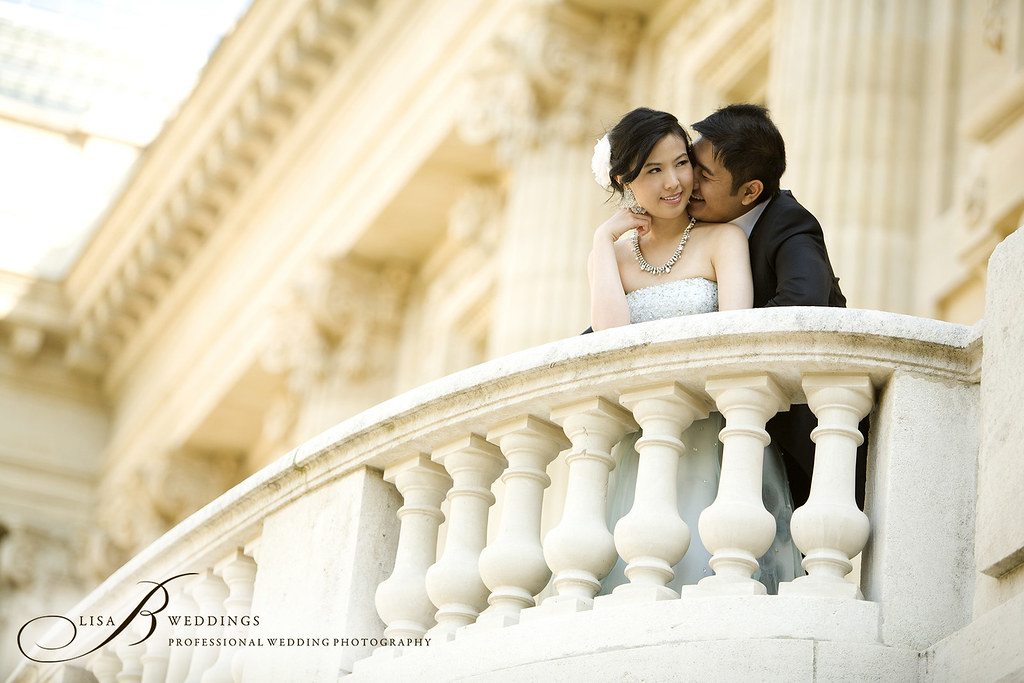 Jason & Monica's pre wedding shoot in Paris