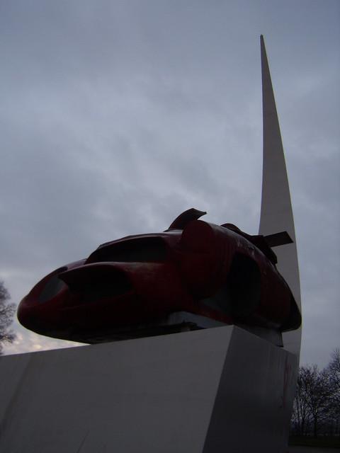 monumento Enzo Ferrari - Franco Reggiani