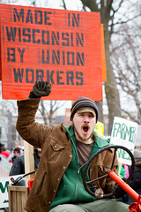 lively farmer (cailo) Tags: fab wisconsin march 14 protest saturday capitol madison 12 tractorcade fab14 wisconsin14 saturdaymarch12