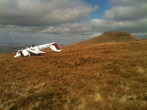 Day #285 crashed plane on the Beacons