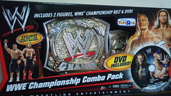 Mattel WWE Championship Combo Pack (imranbecks) Tags: world toys championship belt dvd wrestling belts entertainment pack title exclusive mattel toysrus wwe intercontinental titles combo