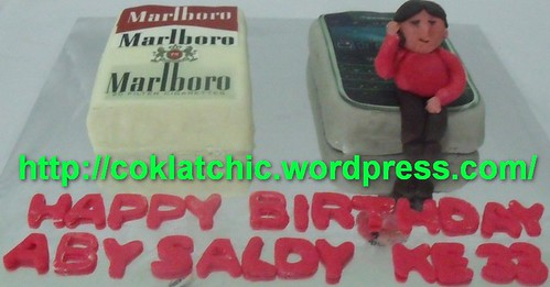 Cake Berbentuk Marlboro Dan Blackberry Jual Kue Ulang Tahun