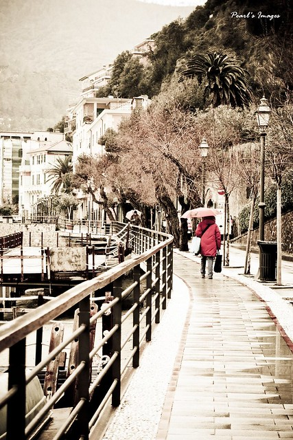 雨天的Monterosso