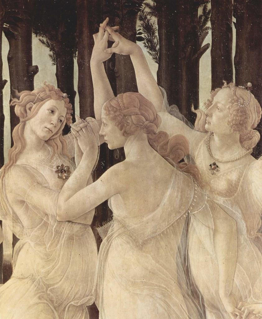 Le Printemps de Botticelli - Les Trois Grâces