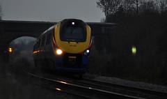 222 003 (Mainliner2011) Tags: lowlight nikon action northamptonshire irchester emt meridian d5000 eastmidlandstrains 222003 nikond5000 knustonbridge