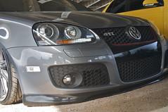 Slammed MK5 GTI (The Pug Father) Tags: show park bridge water car by vw volkswagen waterfront kentucky ky louisville gti slammed the airride mk5 2011 louisvillevw