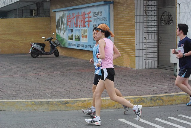 2011鳳山美津濃跑三校越野全國馬拉松賽