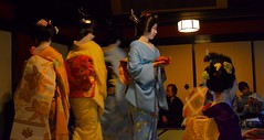 Motionblur Maiko (krelle) Tags: japan kyoto tea ceremony maiko geiko geisha gion ichiriki