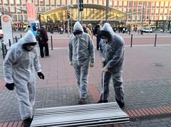 Impression der Mahnwache zum Atom-Ausstieg in Bochum #ausgestrahlt