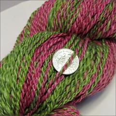 Sebastopol Raspberry Farm yarn, close up