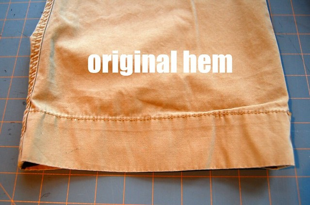 how to hem pants