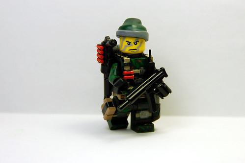 Custom minifig Navy SEAL WIP