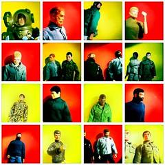 All My Vintage Style Joes (8 Skeins of Danger) Tags: red sea yellow vintage beard gijoe fdsflickrtoys air land scar fuzz actionman repro adventurers adventureteam kungfugrip manofaction 8skeinsofdanger