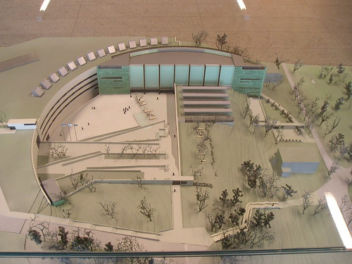 Model of Kumu Art Museum, Tallin