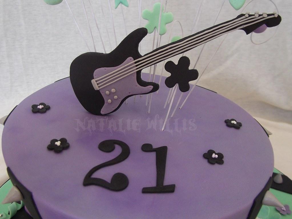 Amber's 21st Rockstar Cake