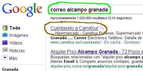 Carrefour contra Alcampo