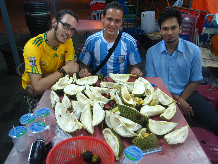 Durian Buffet Damage - 3 of us
