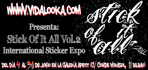 Stick Of It All Vol.2 Flyer by Vidalooka