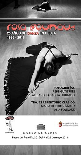 """EXPOSICIÓN FOTOGRÁFICA """"ROSA FOUNAUD, 25 años de danza en Ceuta"""""""