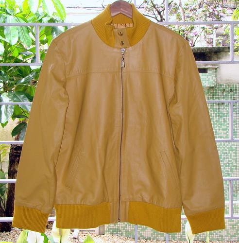 jaqueta couro