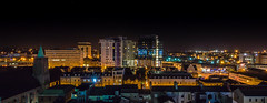 Cardiiff Night Scape (Mohammed.Arfan.Aslam) Tags: cardiff city cityscape nightshots night shots urban landscape wide angle nikond3200 1024mm buildings nightviews wales visitwales caerdydd moody church highrises illuminate neon lights longexposure flick explore landscapes cityscapes