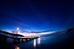 Haraoka - pier / Canon EOS60D:Tokina AT-X 107 Fisheye 10-17mm F3.5-4.5 (telenity) Tags: japan tateyama ocean pier haraoka landscape eos60d tokina fisheye