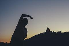 Walk the line (Roberto Ragno) Tags: bologna san luca colli hills italy sanluca italia bononia sunset sleek line sleekline portrait tramonto ritratto controluce silouette canon60d canon 60d 50mm