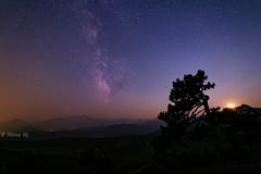 Milky Way over Longs Peak