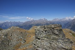 Alone with the Mountains (vonbueren) Tags: mountain rock stein alpen gebirge wallis scheiz erez wanderung wandern hike switzerland tal gebirgskette valais wanderweg eischoll alpin