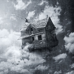 Between Clouds // Entre Nubes (manurs.) Tags: boy sky house inspiration fish man guy texture illustration clouds photoshop photography design fly flying photo casa fantastic fishing graphic designer surrealism manipulation fantasy cielo fantasia nubes entre chico fotografia inspire nio pesca diseo texturas ilustracion inspiracion between fantastico dreamcatcher fotomontaje grafico pescando volando surrealismo retoque fotografico chaval manurs truthandillusion onephotomonthjune
