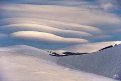 Armonie (Massimo Feliziani) Tags: park parco snow landscape nuvole nuvola national neve montagna paesaggio nazionale sibillini lenticolare lenticolari fotomassimo