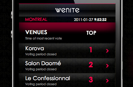 Discover Montreal's hottest parties with mobile app WeNite