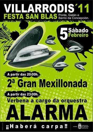 Arteixo 2011 - Vilarrodís San Brais cartel