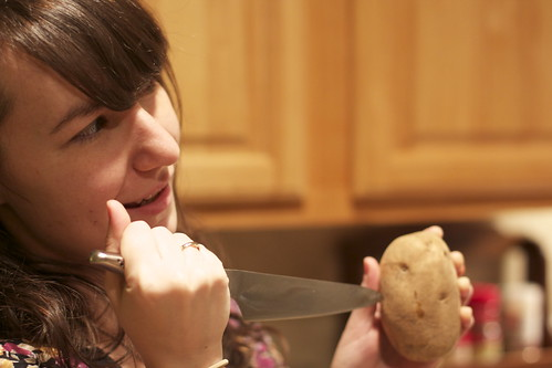 killing a potato