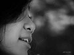 Vietnam smile #2 (e.nhan) Tags: light portrait white black art closeup dof bokeh arts vietnam backlighting enhan