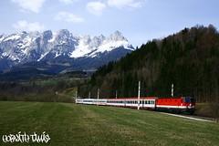 1044 024-6, 09.04.2009, Bischofshofen (mienkfotikjofotik) Tags: eisenbahn railway bahn bb kolej 1044 sterreichische vast bundesbahnen bb