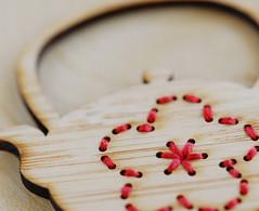 Sashiko Plum Teapot (melanie gray augustin (Kimono Reincarnate)) Tags: japanese cut brooch plum bamboo jewellery laser teapot kimono ume sashiko reincarnate