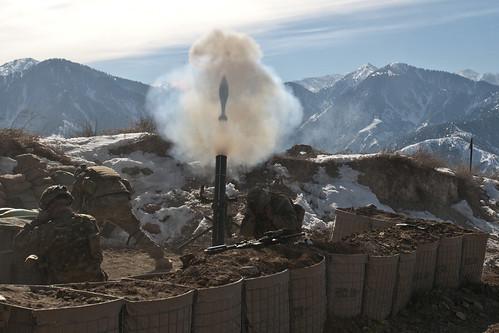 Mortar Round Airborne