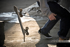 The Skateboard!!! (amandajcain) Tags: canon massachusetts wheels overpass spotlight falling skateboard 5d skateboarder skateboardsundays