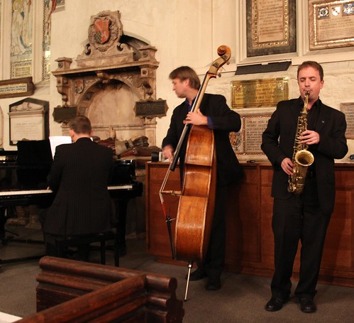 2010 Christmas concert Jamie O'Donnell Trio