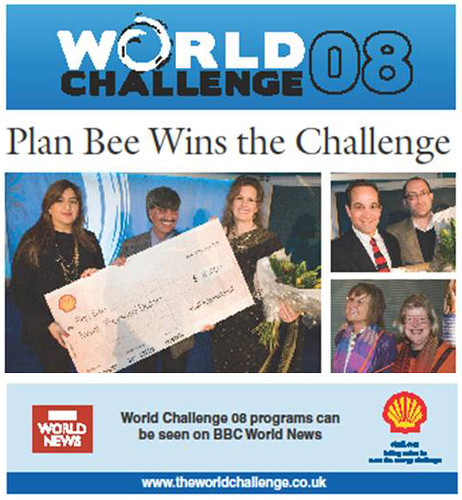 Plan Bee Wins World Challenge 2008-2