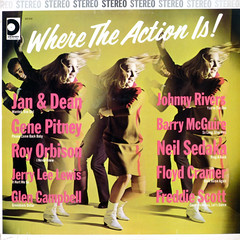 No. Watch Her. I See It! (epiclectic) Tags: music art vintage dance dancers sampler album vinyl babe retro chick collection cover lp blonde record 1968 gogo sleeve compilation anagram variousartists epiclectic threechickdisk titlebywordsmithorg