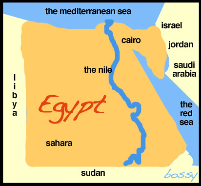 egypt-map-graphic