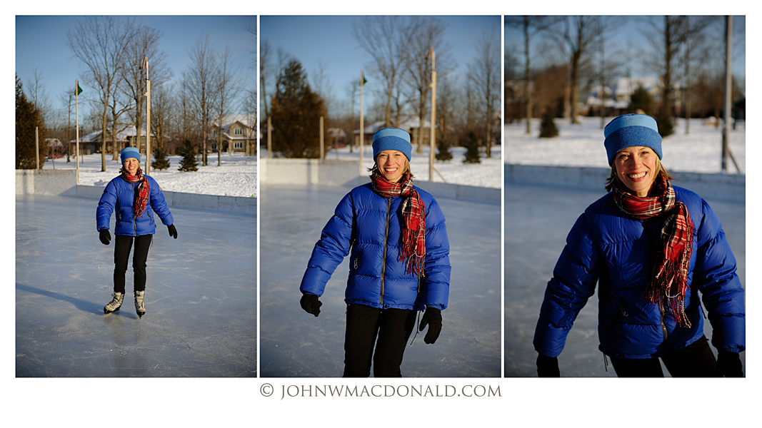 Susan Olding Skate -20 degrees